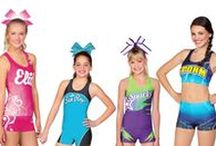 Cheer Practice Wear / Chassé cheerleading practice apparel. Available at Omni Cheer and Campus Teamwear.