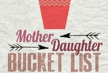 Mommy Daughter Dates / What are your special mommy daughter dates? Here are some of ours.