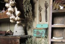 In The Garden ~ Potting Benches & Spaces / by Prim With Love