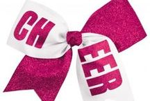 Chassé Cheer Hair Bows / Chassé bow available at Omni Cheer and Campus Teamwear.