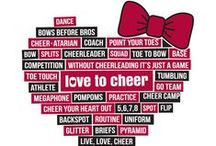 Printed Cheer Tees & Tanks / Graphic t-shirts and tank tops from Chassé, perfect for camp, practice and events!