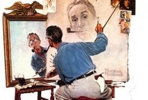 Norman Rockwell Artist / by Bob Eyre