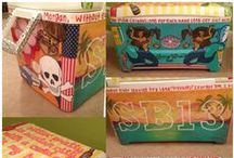 Painted Coolers / by Ashley Ford