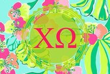Chi Omega ΧΩ / A board for my Chi Omega sisters everywhere! Go Greek! Wise women know to pledge ChiO! / by Ashley Ford