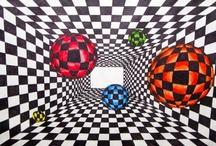 line/pattern/op art / by Jen Hollis