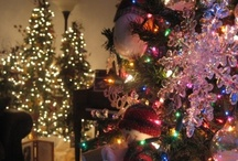 """O Christmas Tree / """"Never worry about the size of your Christmas tree. In the eyes of children, they are all thirty feet tall.""""  ― Larry Wilde / by Kelley Jensen"""