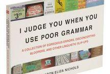 Speak English. / by Kathy Profio Norris