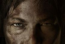 Celebrating Daryl Dixon #TWD / A celebration of the man, his bike and that cross bow. . . . the star of The walking Dead. when there's a zombie apocalypse, he's on my team. x