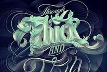 typography / type, typography, fonts, lettering, hand lettering, design, graphic, graphic design