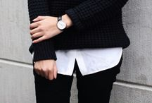 ~ fall/winter ~ / Warm clothes for winter weather.