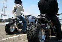 custom scooter / wheels, scooter, motor, engine, petrol heads, vehicles