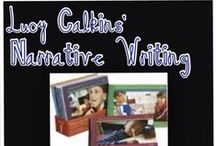 Lucy Calkins Narrative Writing Resources / This board contains lots of resources to help primary teachers teaching narrative writing to their students.