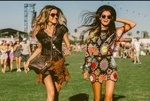Festival Fashion / Festival fashion is hard to get right with unpredictable weather, but here is a bunch of inspiration to make sure you are on trend this Summer!