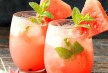 Summer Drinks & Cocktails / Drinks & cocktail ideas for summer