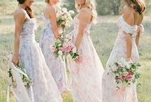 WEDDING PARTY ATTIRE / Get inspired to find the best look for your besties on your big day.