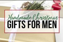 {Handmade Christmas} DIY Gifts for Men / A collection of DIY gift ideas for men curated for customers of the 7 Steps to a Handmade Christmas eBook from unOriginalMom.com.  Get motivated, organized, and inspired to handmade your Christmas gifts this year! http://www.unoriginalmom.com/handmadechristmas
