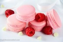 {Food} My Macaron Obsession / French Macarons - so pretty and delicious! Ideas for macaron flavor combinations and presentation.
