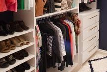 {Home} Master Closet Ideas / Ideas and inspiration for a someday master closet re-do!
