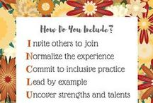 Classroom / Information about inclusion and education in the classroom.