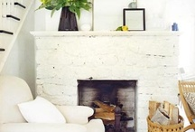 Fabulous Fire Places & Integral Alcoves / Beautiful fire places. Particularly ones with a Victorian or rustic English feel. Plus creative ways of making practical storage within the integral alcoves. / by Rebecca Goldthorpe