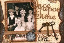 Handmade Cards and Scrapbooking Layouts / Collection of Cards made by Scrapbookers and paper Crafters