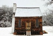 Cozy Cabin / inspiration for a cozy mountain cabin getaway