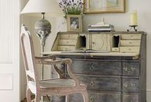 Painted Furniture/ Milk Paint/ Chalk Paint/Fusion Mineral Paint / Garden House Studio Painted Furniture and Pins from really great furniture painting!