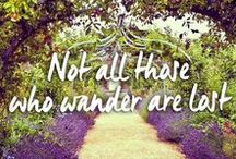 Travel Quotes / Inspirational travel quotes from all over the world.