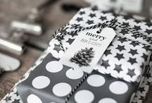 Wrapping / Anything that is for gifts, bags, and boxes.