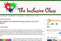 My Blog / Posts about the inclusive classroom from www.theinclusiveclass.com!