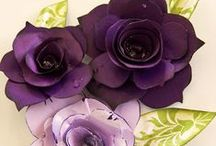 Paper Flowers / Any flowers made with paper.