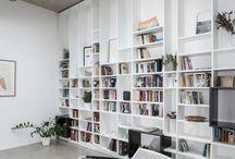 Storage, Wardrobe, Library wall / Storage, Wardrobe, Library wall