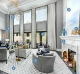 "Scott McGillivray's Dream Home / After 16 years and hundreds of renovations for others, HGTV's host of Income Property, Scott McGillivray (with wife Sabrina) knew what he wanted for his own dream home. ""I had 10 years of ideas! I was always saying, 'One day when I renovate my own home, I want to have one of these.' That's what this [house] is, a collection."" For their completely customized home, Scott and Sabrina, ""engineered everything around our family,"" he says. Cabinet hardware by Emtek.  As Featured in People magazine."