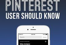 PINTEREST / Infographics, Numbers, Information regarding Pinterest.