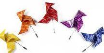 JDP Pajaritas / Origami Birds by JOYAS DE PAPEL / Pendientes, collares y broches con forma de pajarita. Complementos de moda originales perfectos para regalar y darte un capricho.