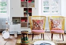 Maximalist Interiors / snapshots from the spaces, real and imagined, that surround nanette lepore  / by Nanette Lepore