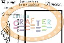 Sueña / Proyectos usando el set Sueña de Latina Crafter #latinacrafter, #crafts