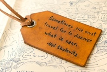 Travel Quotes / Collection of our favorite inspiring travel quotes
