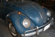 VW Beetle..my first car! / I still have my 1964 VW Bug...she need some love but I hope to fix her up just in time for my grandson Jason to drive to school when he turns 16.. / by Donna Witkowski-Murray