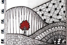 All about Zentangle  / This is a shared board. Once you are a member please feel free to post and invite people that would also enjoy this board. / by Tammy J