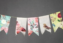 Paper Garland / Banner / Streamer / by Kate Hickman