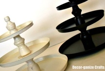 Cake Stands / 3 Tier Stands / Misc Stands / by Kate Hickman