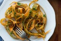 vegan recipes: pasta / by Kathy Hester | HealthySlowCooking.com