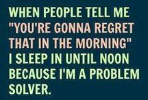 Mornings Stink