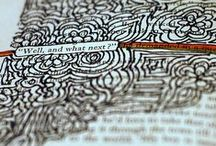 Art Journals & Black Out Poetry