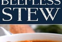 vegan recipes: soups and stews / Vegan Soup and Stew recipes for throughout the year