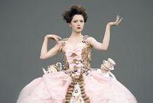 Vestidos de papel / Paper dress
