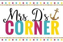 Mrs. D's Blog / Teaching tips, tricks, teaching inspiration and lesson plan ideas for your classroom from Mrs. D's Corner, an elementary special educator's blog.