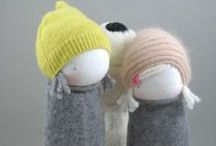 ::: handmade softies ::: / Dolls, bears, mouses and other softies / by Cristina EGEA