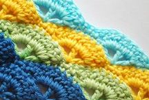 Crochet -- Tips and Stitches / I am determined to one day sit down and learn all these awesome crochet stitches!  Included are some great crochet tips too.